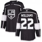 Tiger Williams Men's Los Angeles Kings Stitched Home Black Jersey
