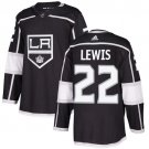 Trevor Lewis Men's Los Angeles Kings Stitched Home Black Jersey
