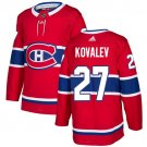 Alexei Kovalev Men's Montreal Canadiens Stitched Home Red Jersey