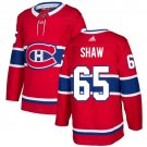 Andrew Shaw Men's Montreal Canadiens Stitched Home Red Jersey