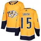 Craig Smith Men's Nashville Predators Stitched Home Gold Jersey