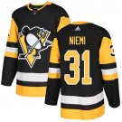 Antti Niemi Men's Pittsburgh Penguins Stitched Home Black Jersey