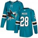 Timo Meier Men's San Jose Sharks Stitched Teal Home Blue Jersey