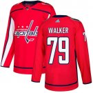 Nathan Walker Men's Washington Capitals Stitched Home Red Jersey