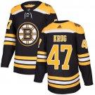 Torey Krug Men's Boston Bruins Stitched Home Black Jersey