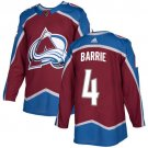 Tyson Barrie Men's Colorado Avalanche Stitched Burgundy Home Red Jersey
