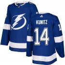 Chris Kunitz Men's Tampa Bay Lightning Stitched Royal Home Blue Jersey