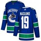 Markus Naslund Men's Vancouver Canucks Stitched Home Blue Jersey