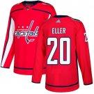 Lars Eller Men's Washington Capitals Stitched Home Red Jersey