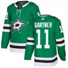 Mike Gartner Men's Dallas Stars Stitched Home Green Jersey