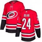 Jake Bean Men's Carolina Hurricanes Stitched Home Red Jersey