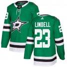Esa Lindell Men's Dallas Stars Stitched Home Green Jersey