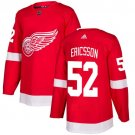 Jonathan Ericsson Men's Detroit Wings Stitched Home Red Jersey