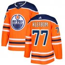 Oscar Klefbom Men's Edmonton Oilers Stitched Home Orange Jersey