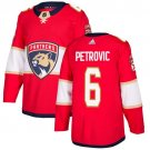 Alex Petrovic Men's Florida Panthers Stitched Home Red Jersey
