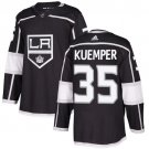 Darcy Kuemper Men's Los Angeles Kings Stitched Home Black Jersey
