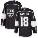 Dave Taylor Men's Los Angeles Kings Stitched Home Black Jersey