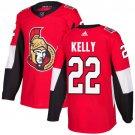 Chris Kelly Men's Ottawa Senators Stitched Home Red Jersey