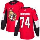 Mark Borowiecki Men's Ottawa Senators Stitched Home Red Jersey