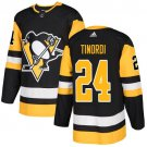 Jarred Tinordi Men's Pittsburgh Penguins Stitched Home Black Jersey