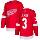 Nick Jensen Men's Detroit Wings Stitched Home Red Jersey