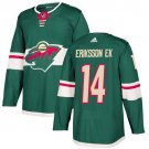 Joel Eriksson Ek Men's Minnesota Wild Stitched Home Green Jersey