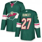 Kyle Quincey Men's Minnesota Wild Stitched Home Green Jersey
