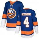 Dennis Seidenberg Men's New York Islanders Stitched Royal Home Blue Jersey