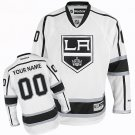 Men's Los Angeles Kings Customized White Stitched Jersey