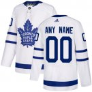 Men's Toronto Maple Leafs Customized White Stitched Jersey
