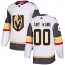 Men's Vegas Golden Knights Customized White Stitched Jersey