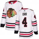 Men's Chicago Blackhawks #4 Bobby Orr White Stitched Jersey