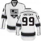 Men's Los Angeles Kings #99 Wayne Gretzky White Stitched Jersey