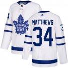 Men's Toronto Maple Leafs #34 Auston Matthews White Stitched Jersey