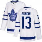 Men's Toronto Maple Leafs #13 Mats Sundin White Stitched Jersey