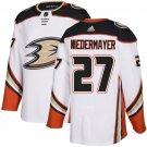 Men's Anaheim Ducks #27 Scott Niedermayer White Stitched Jersey