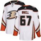 Men's Anaheim Ducks #67 Rickard Rakell White Stitched Jersey