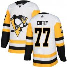 Men's Pittsburgh Penguins #77 Paul Coffey White Stitched Jersey