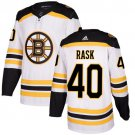 Men's Boston Bruins #40 Tuukka Rask White Stitched Jersey
