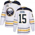 Men's Buffalo Sabres #15 Jack Eichel White Stitched Jersey