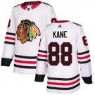 Men's Chicago Blackhawks #88 Patrick Kane White Stitched Jersey