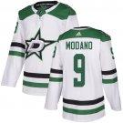 Men's Dallas Stars #9 Mike Modano White Stitched Jersey