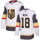Men's Vegas Golden Knights #18 James Neal White Stitched Jersey