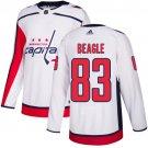 Men's Washington Capitals #83 Jay Beagle White Stitched Jersey