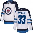Men's Winnipeg Jets #33 Dustin Byfuglien White Stitched Jersey