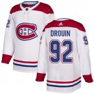 Men's Montreal Canadiens #92 Jonathan Drouin White Stitched Jersey