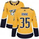 Pekka Rinne Women's Nashville Predators Authentic Home Jersey - Gold