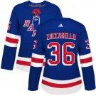 Mats Zuccarello Women's New York Rangers Authentic Royal Home Jersey - Blue