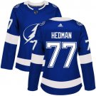 Victor Hedman Women's Tampa Bay Lightning Authentic Royal Home Jersey - Blue