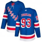 Youth Mika Zibanejad New York Rangers Stitched Royal Home Blue Jersey